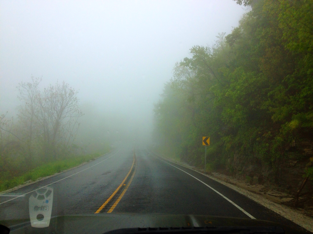 Foggy Arkansas