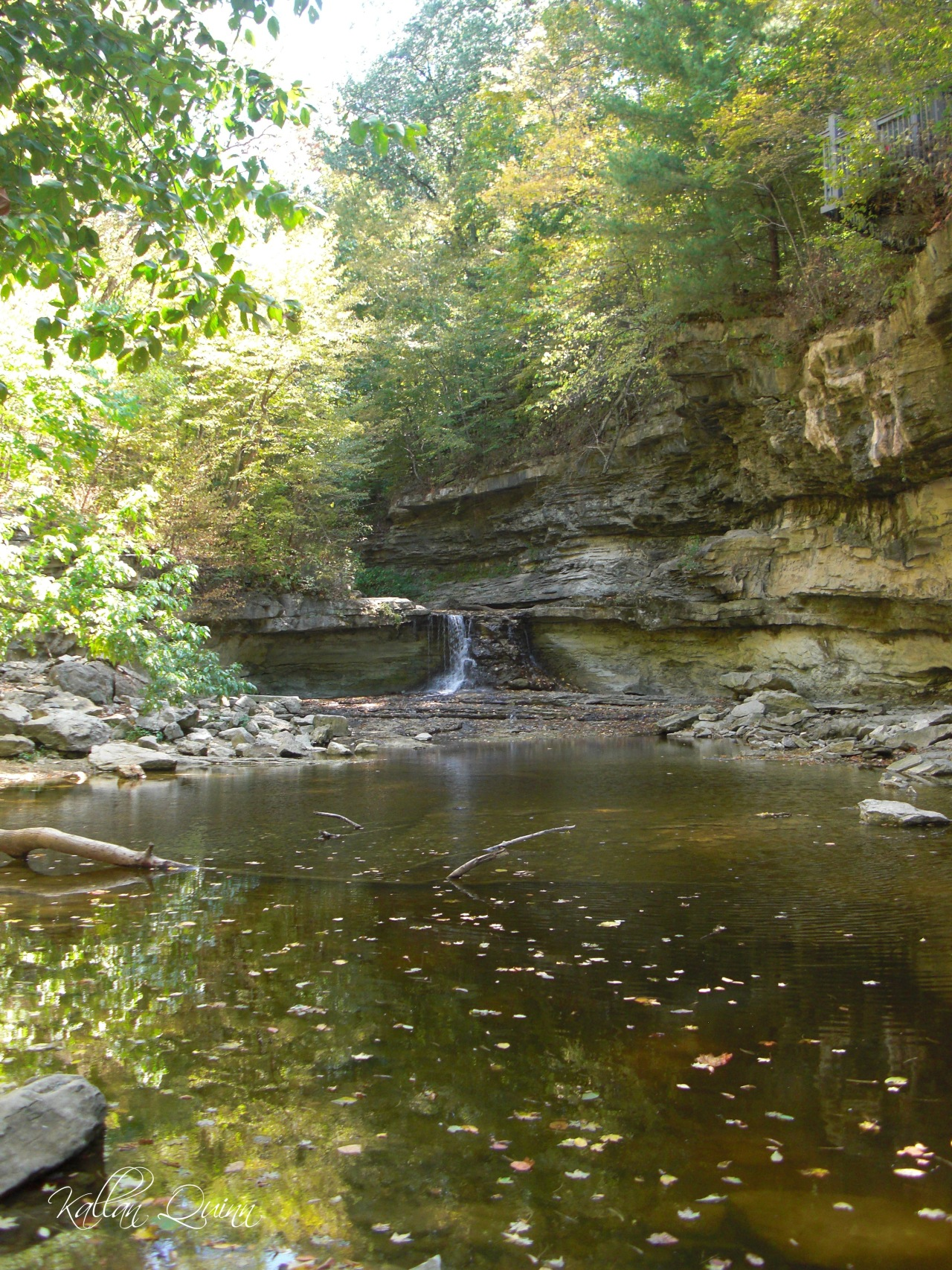 McCormicks Creek Falls