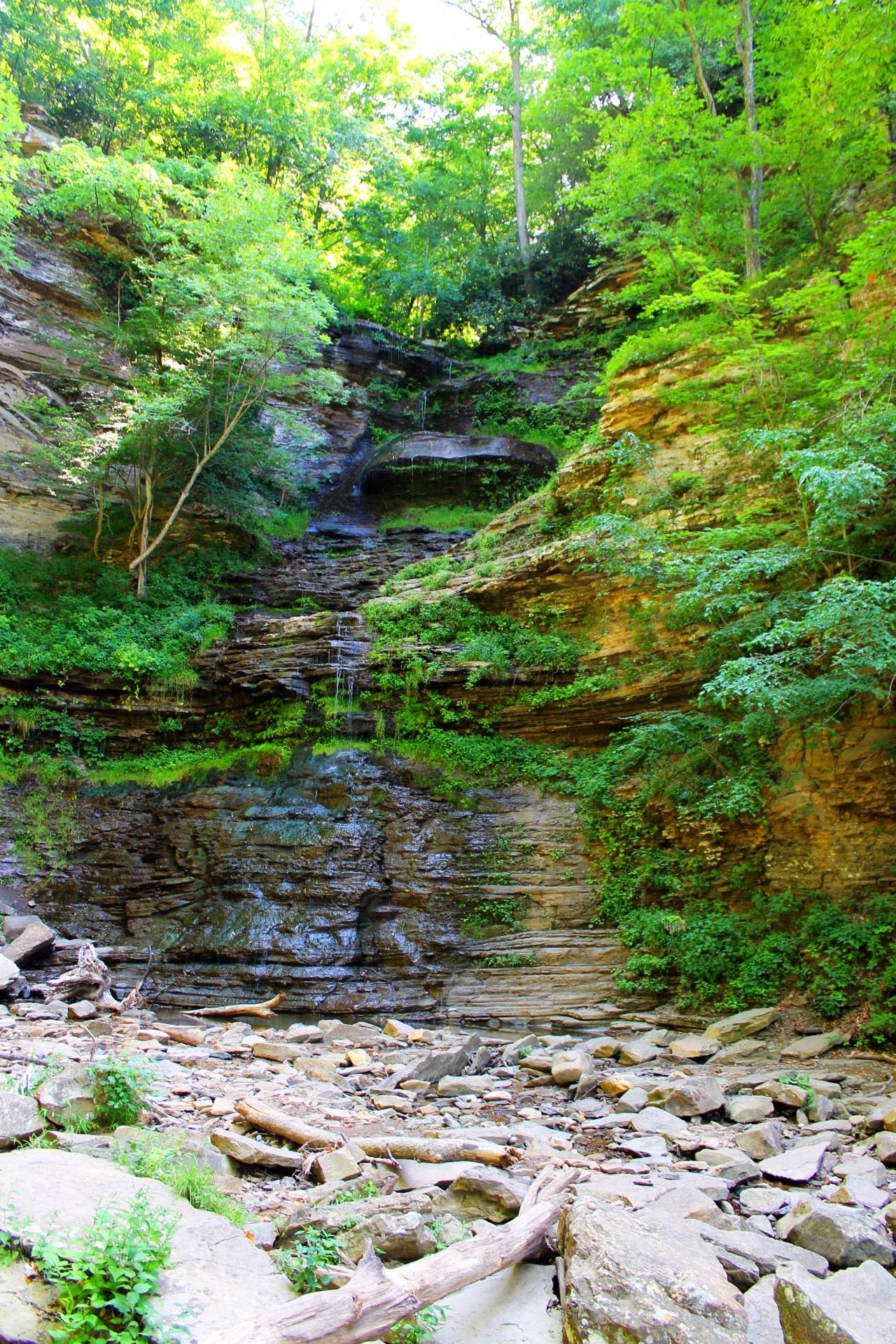 Cathedral Falls & Kanawha Falls – WestVirginia