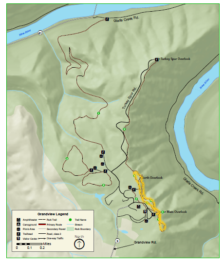 Grandview Trail Map