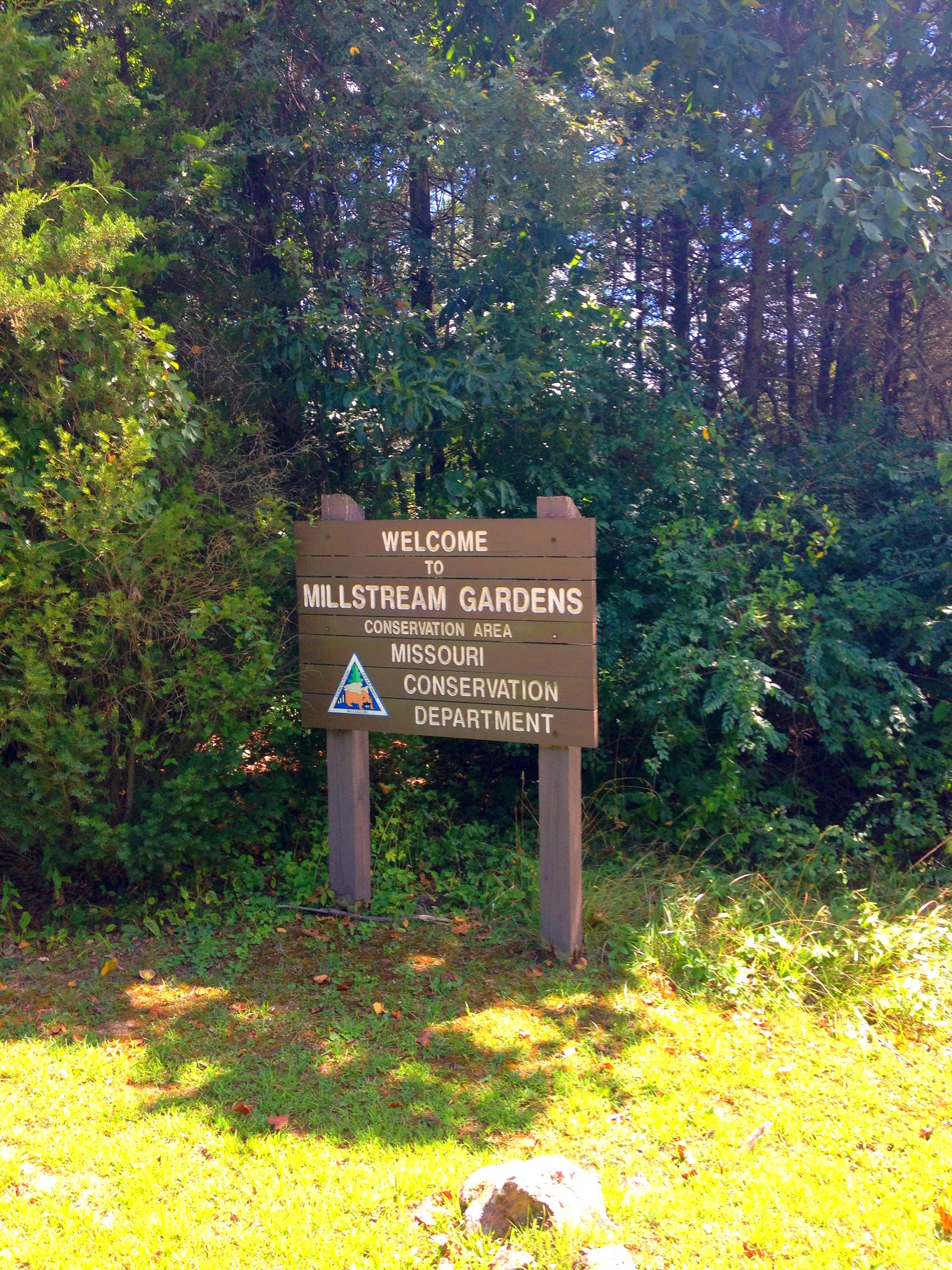 Millstream Gardens Conservation Area Missouri Planned