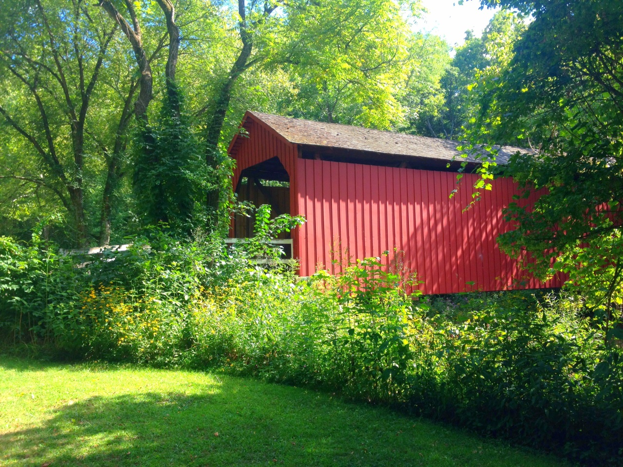 Sandy Creek Covered Bridge (1)