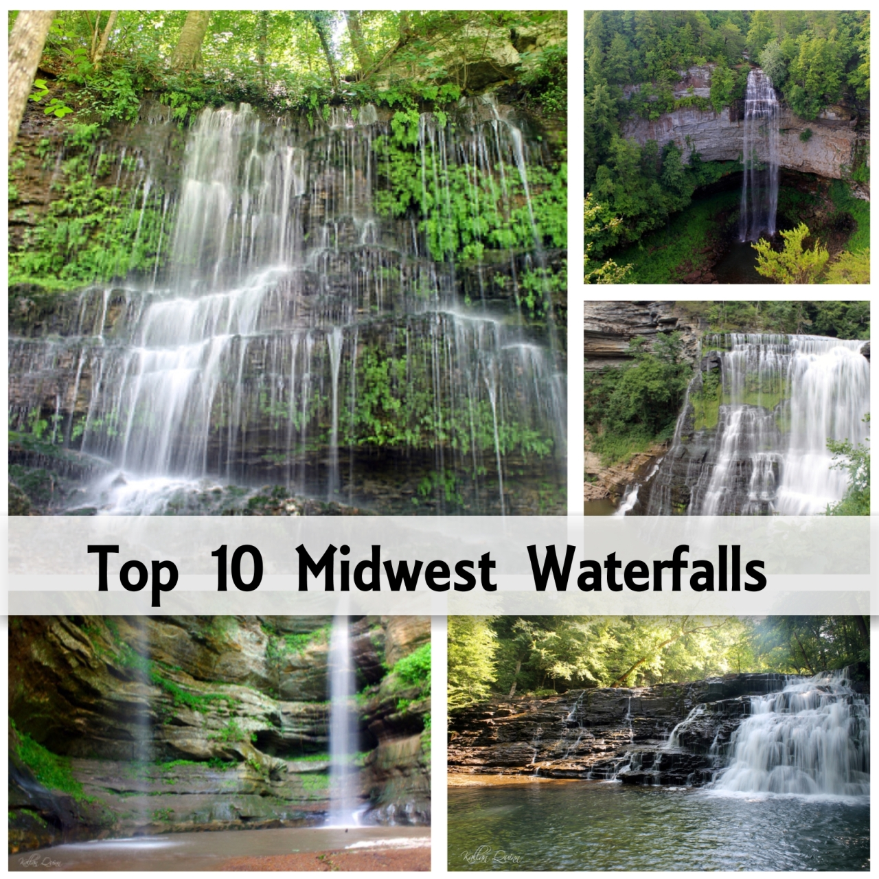 Top 10 Midwest Waterfalls