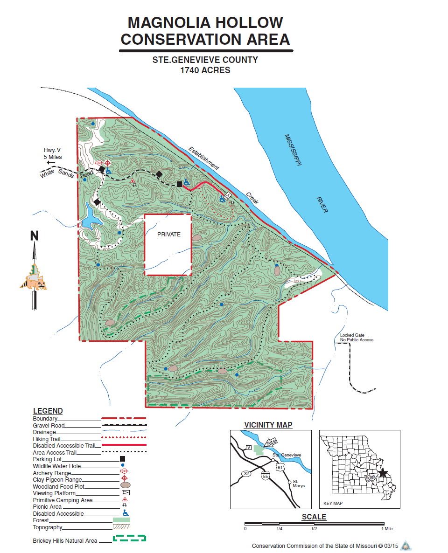 Magnolia Hollow Map