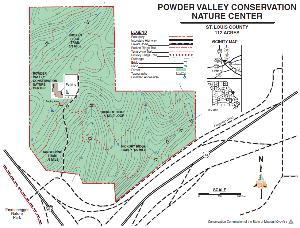 Powder Valley Map