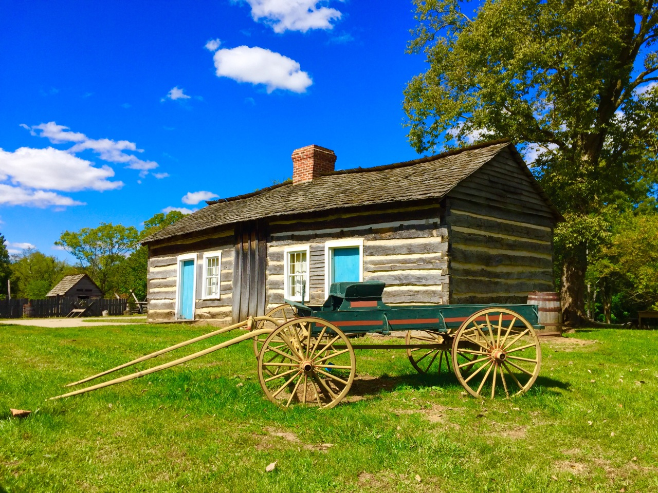 Lincoln Log Cabin State Historic Site – Illinois