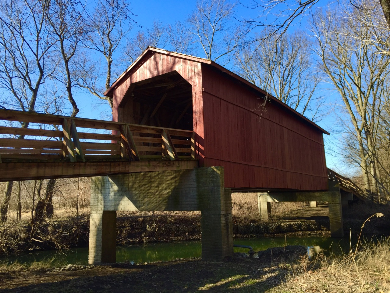 Sugar Creek Covered Bridge – Illinois