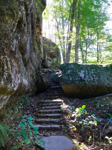 Rim Rock Trail – Illinois – Planned Spontaneity