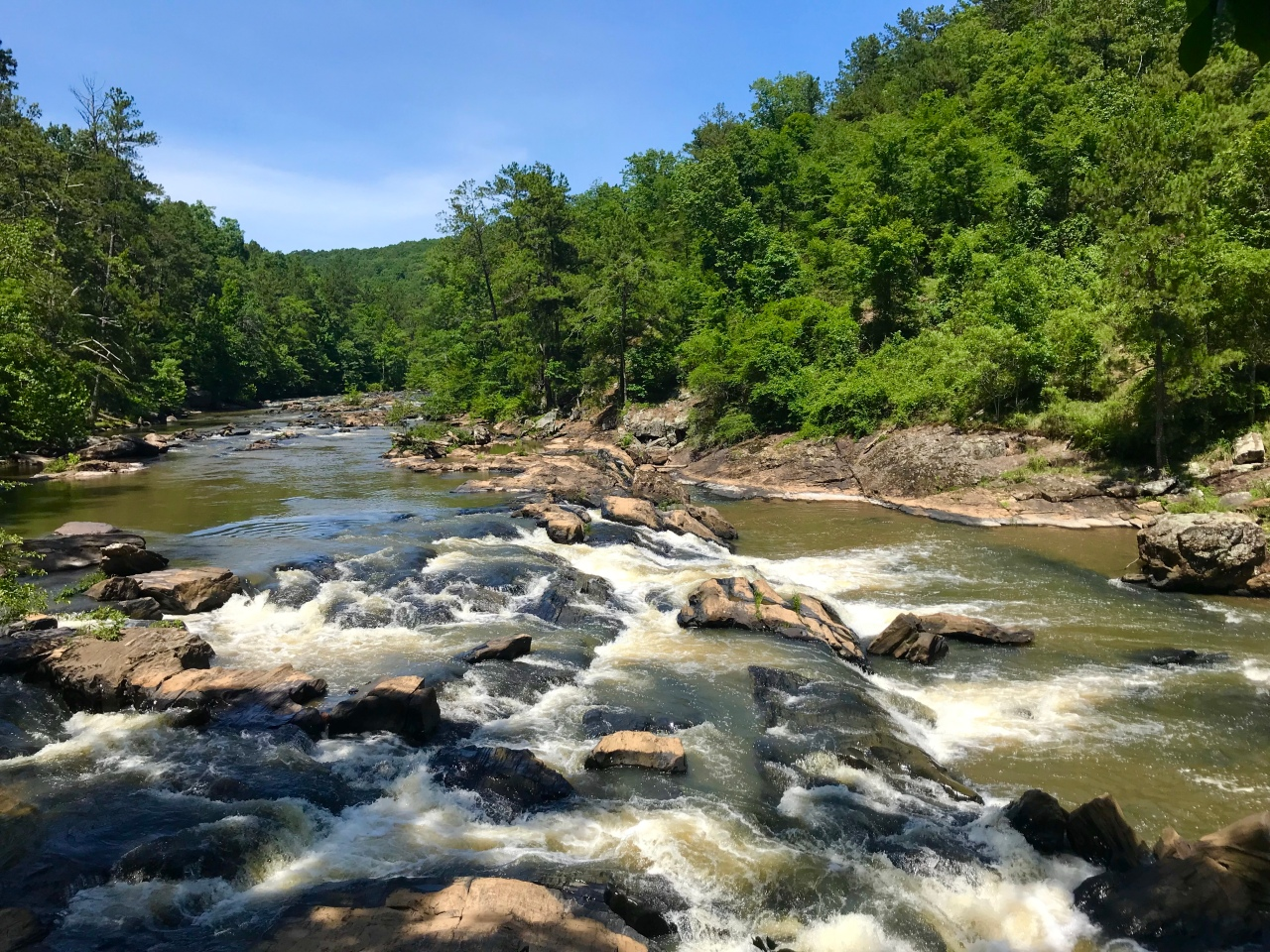 Sweetwater Creek State Park – Georgia