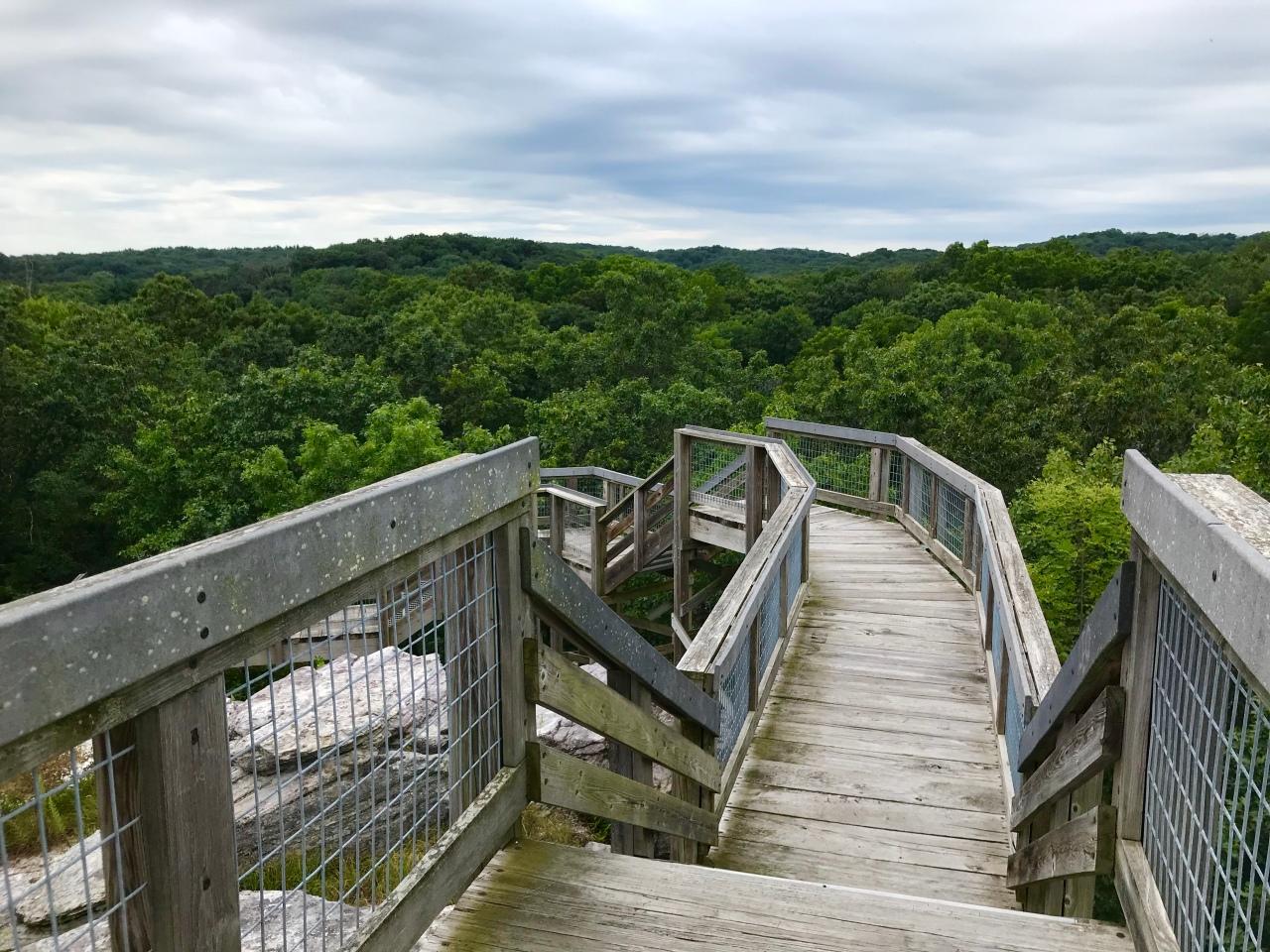 Castle Rock State Park –Illinois