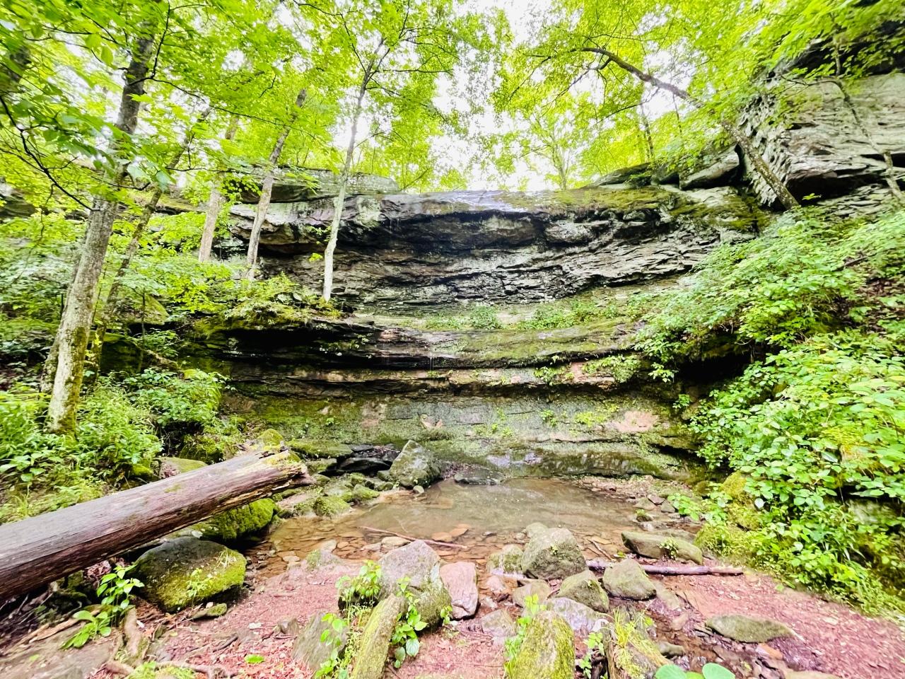 Rocky Bluff Trail –Illinois
